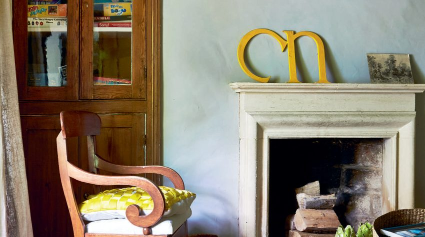 Interior designer Clare Nash's country home