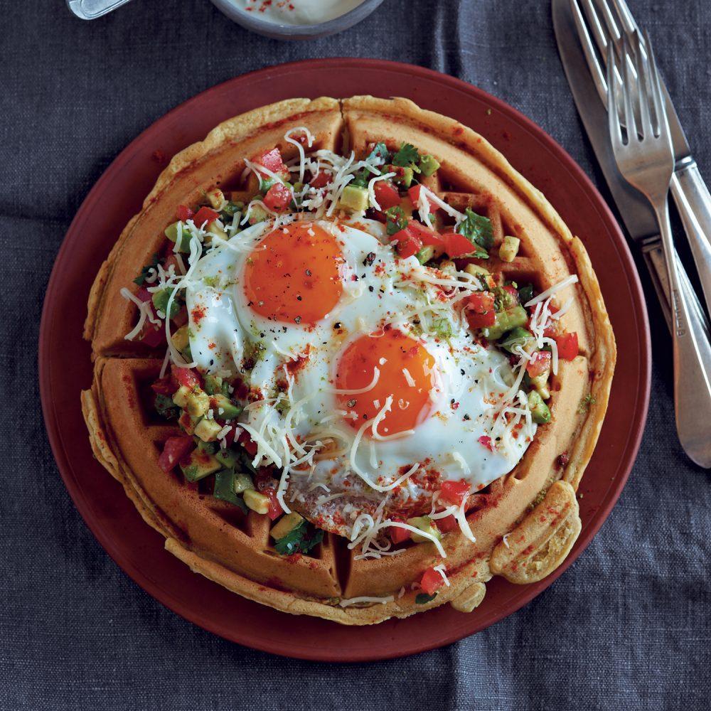 Huevos Rancheros Waffles
