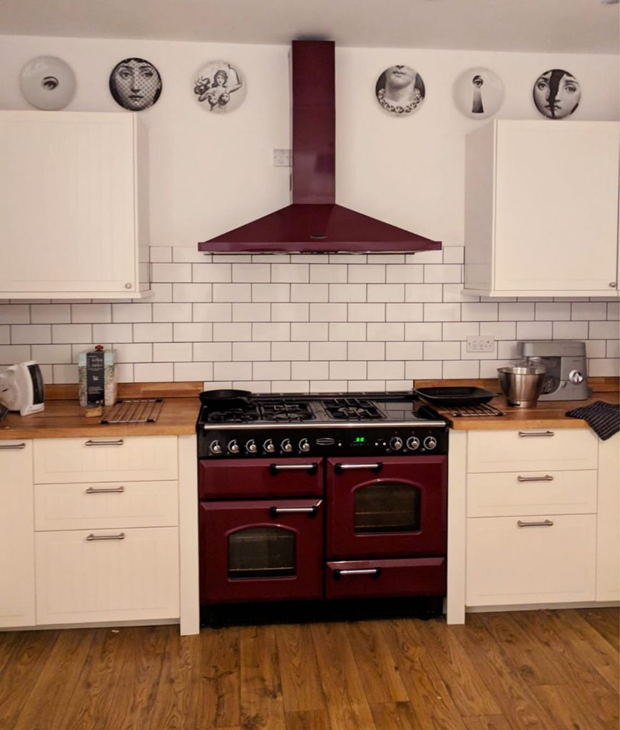 Jess Phillips MP home - kitchen