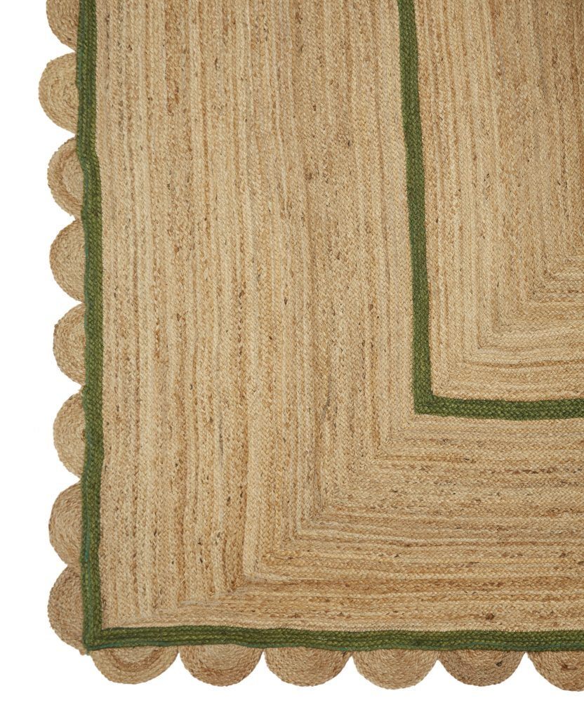 Jute Rug, from £396, Vanrenen WG Designs
