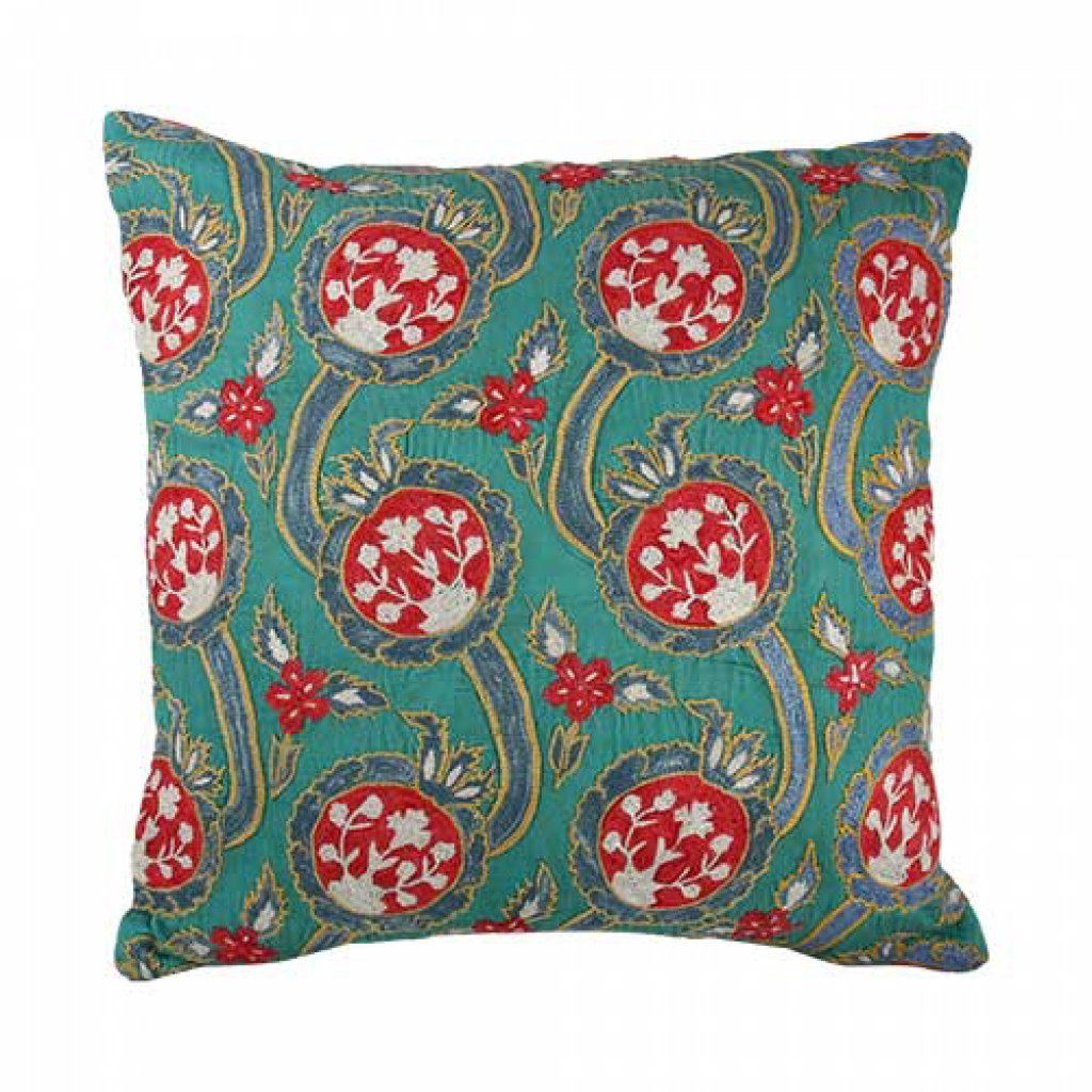 Suzani cushion, £185, Pentreath and Hall