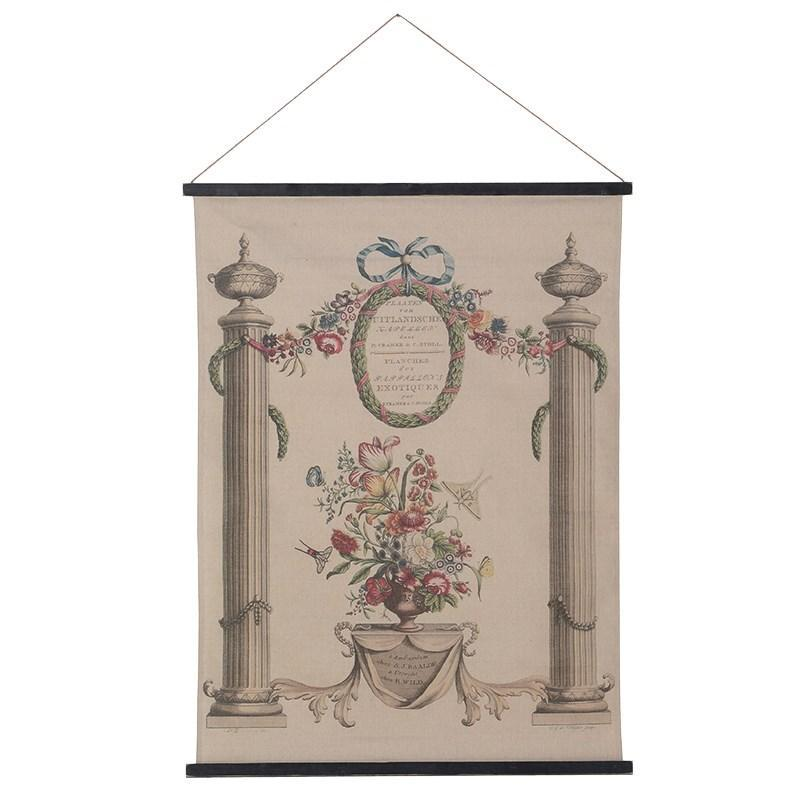 Vintage fabric wall hanging, £48, The Farthing
