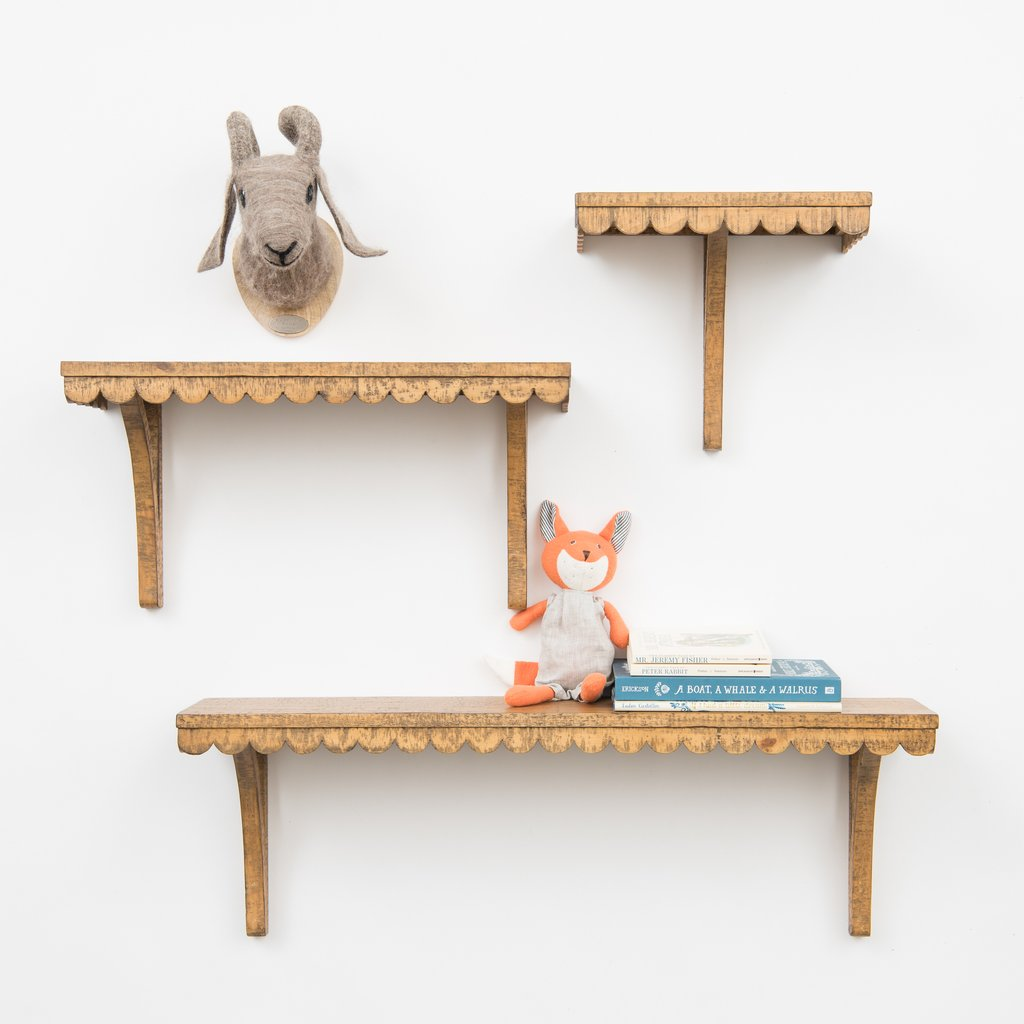 Wooden shelf, £36 (plus int. shipping), Magnolia