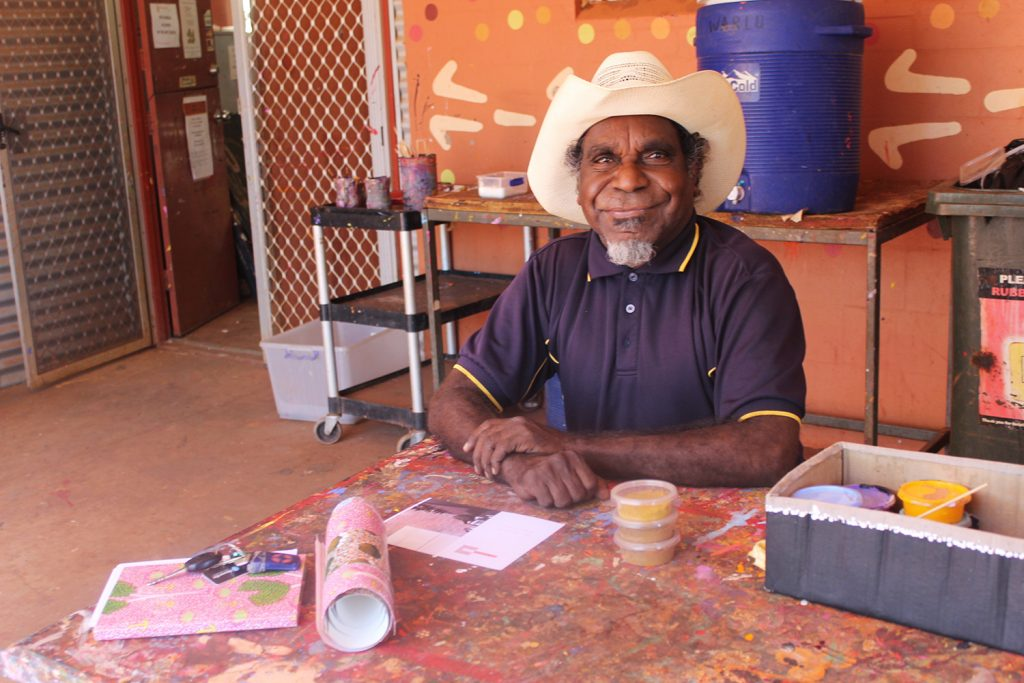Bay Gallery Home aborigine artist