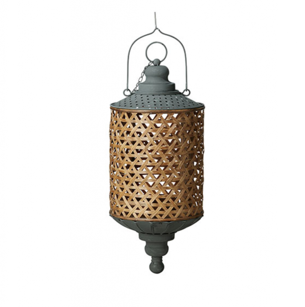 Hanging lantern, £55, Oka