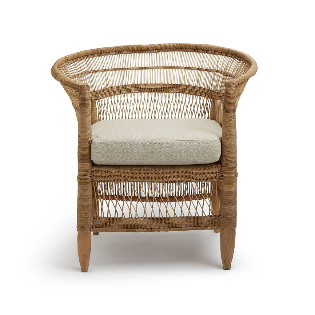 Havana cane chair, £425, Soho Home