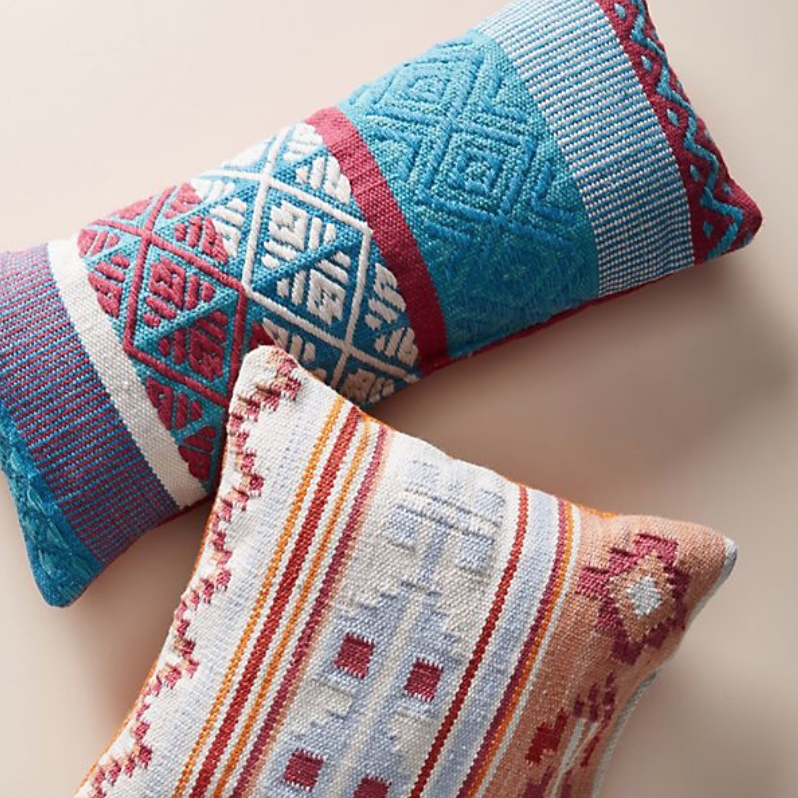 Indoor/outdoor cushions, from £48, Anthropologie