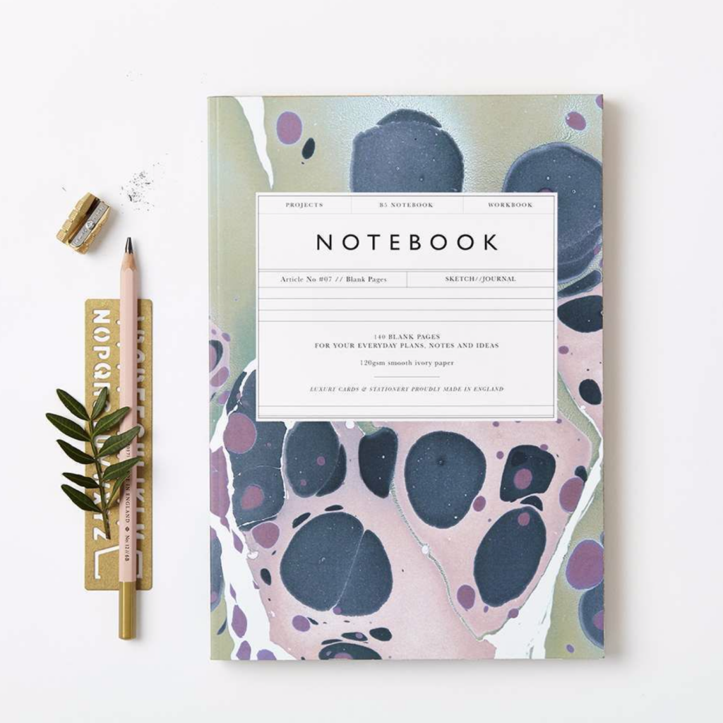 Katie Leamon notebook, £16.50, Graham and Green