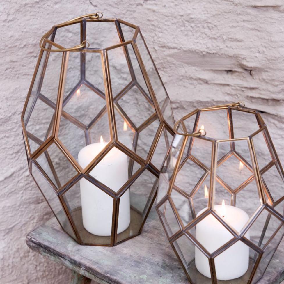 Mohani lantern, £49.95, Nkuku