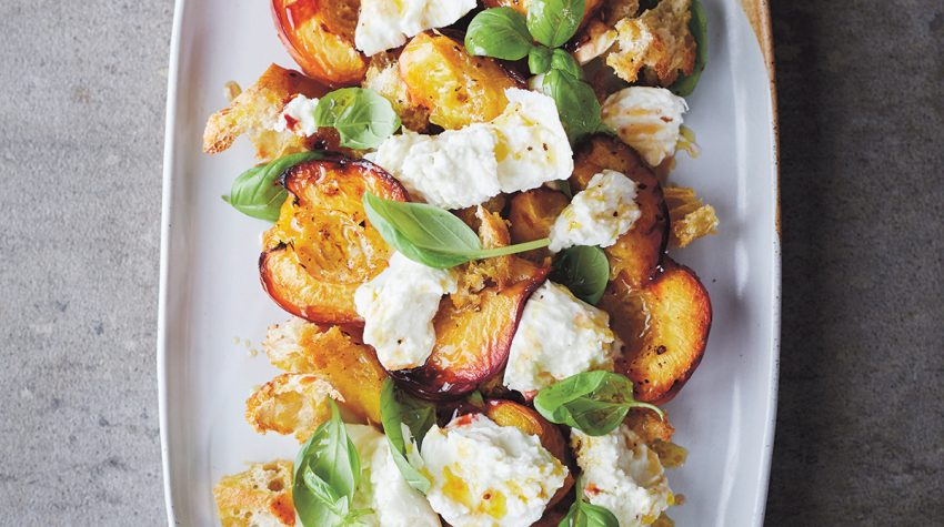 Claire Thomson Mozzarella-Roasted-Stone-Fruit