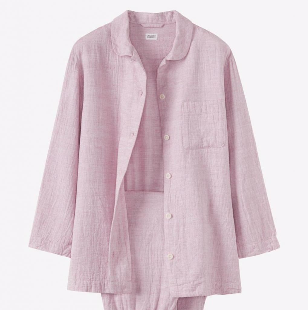 Soft cotton pyjamas, £95, Toast