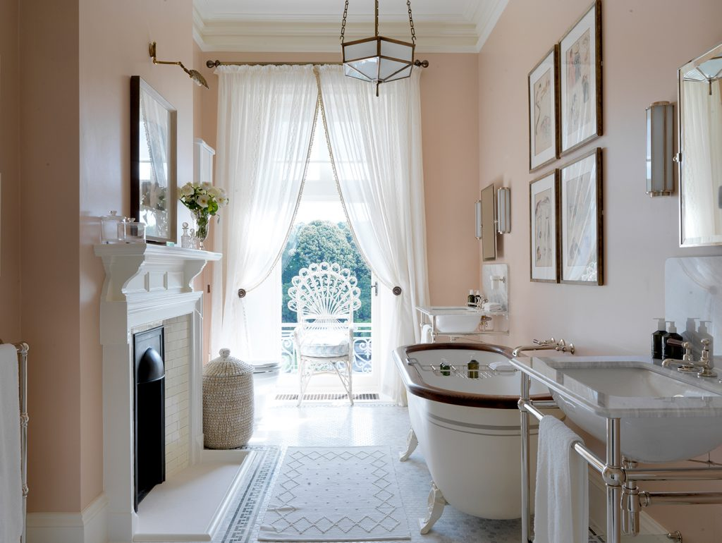 Susie Atkinson designed bathroom Beaverbrook