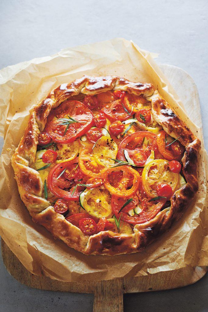 Claire Thomson tomato-galette