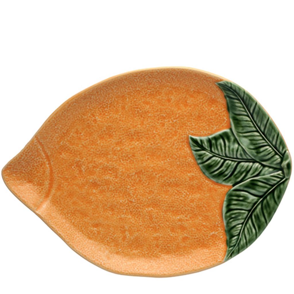 Bordallo Pinheiro platter, £45, Liberty