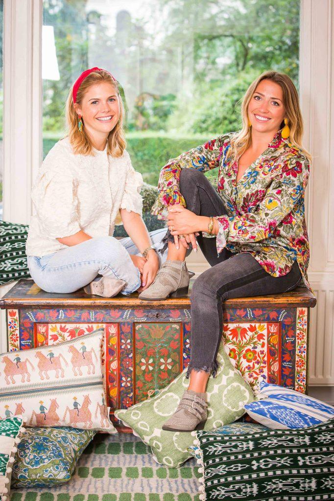 Caroline and Rosie portrait