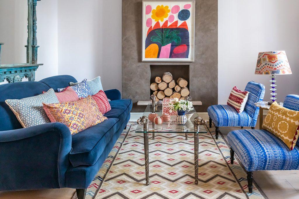 Caroline Downing Nadel's sitting room