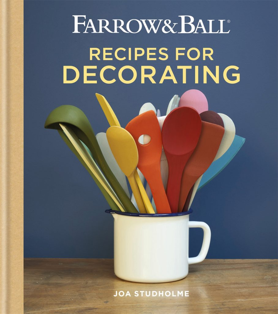 Farrow-&-Ball-Recipes for Decorating by Joa Studholme book-jacket