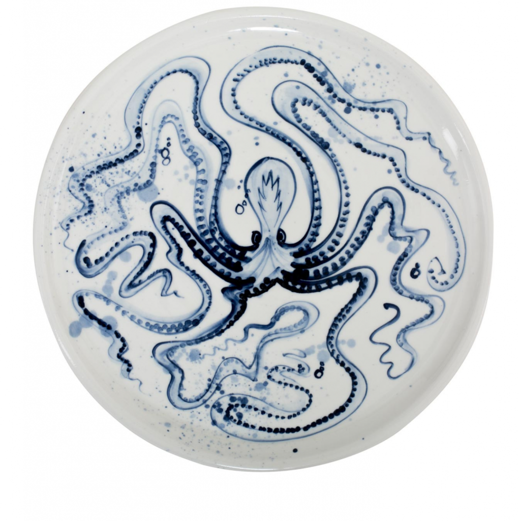Mia Sarosi octopus tableware, from £34, Heals
