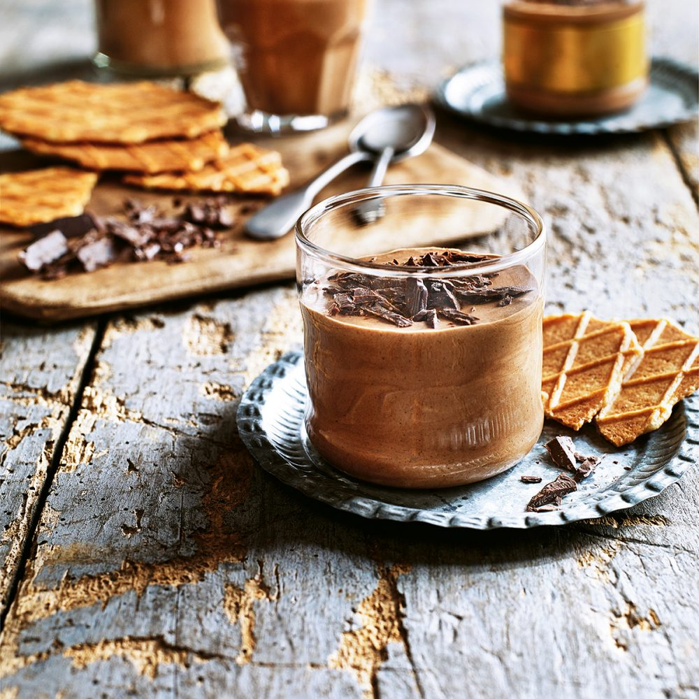 Sabrina Ghayour's Spiced Chocolate, Black Pepper and Coffee Mousse