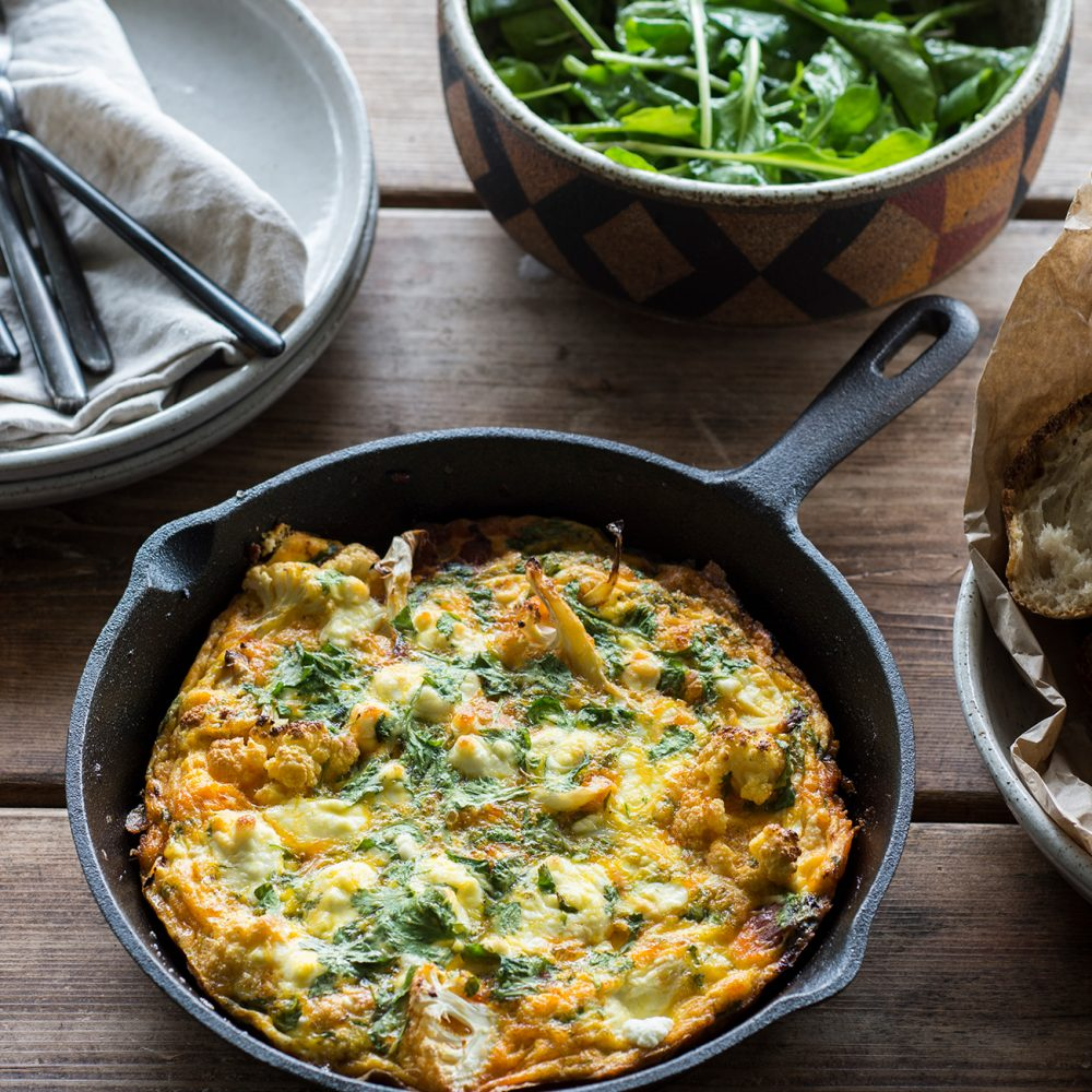 The Farm Community's Smoky Frittata