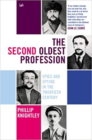 The Second Oldest Profession Phillip Knightley book jacket