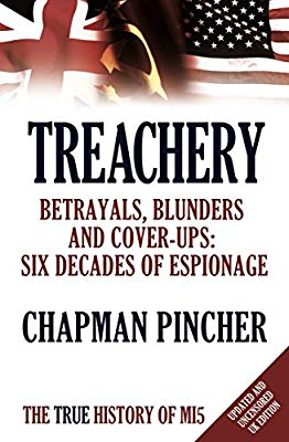 Treachery Champan Pincher book jacket