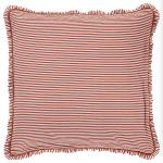 ANNA + NINA ruffled striped cotton-linen cushion, £39.95, Liberty
