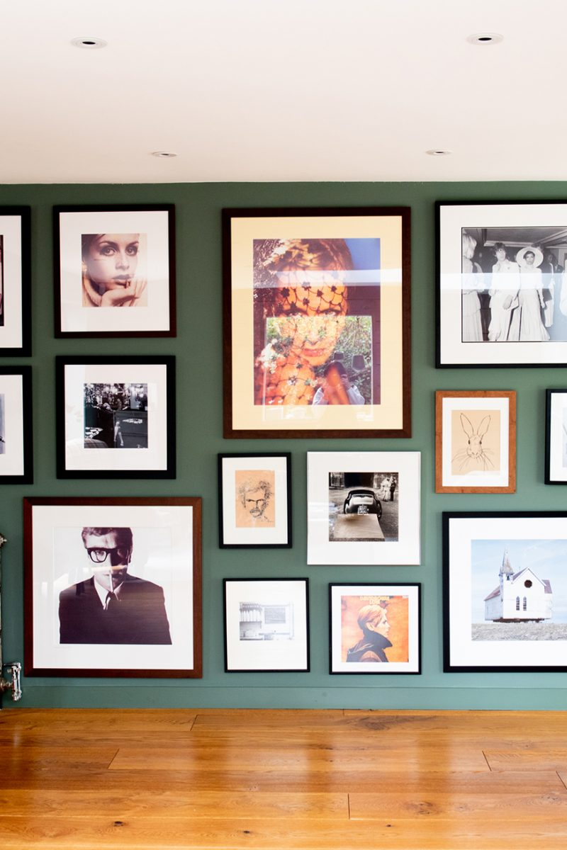 Cathrine Tjore gallery wall © Wendy Aldiss Photography