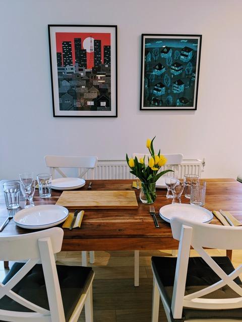 Emma Gannon dining room