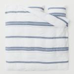 Washed linen duvet cover set £99.99, H&M