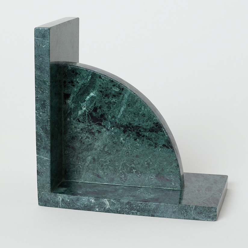 Marble bookend, £14.99, H&M