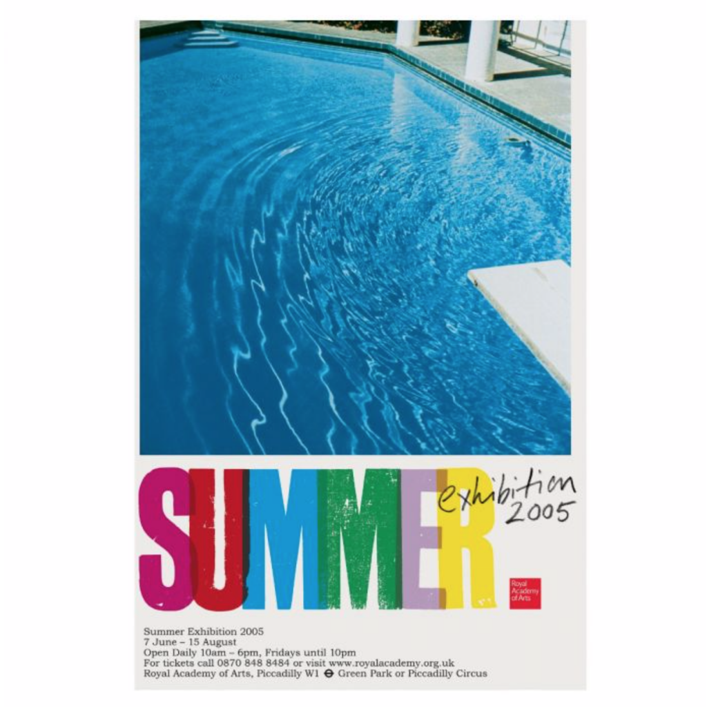 Royal Academy Summer Exhibition Poster, 2005, Royal Academy Shop