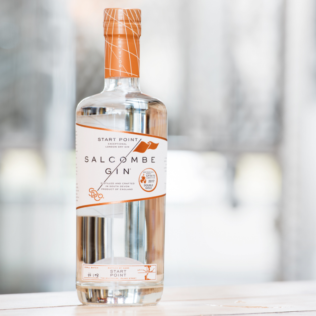 Salcombe Gin 'Start Point', salcombegin.com
