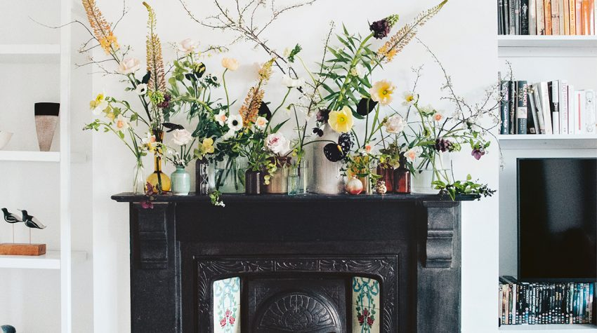 The-Flower-Fix-fireplace