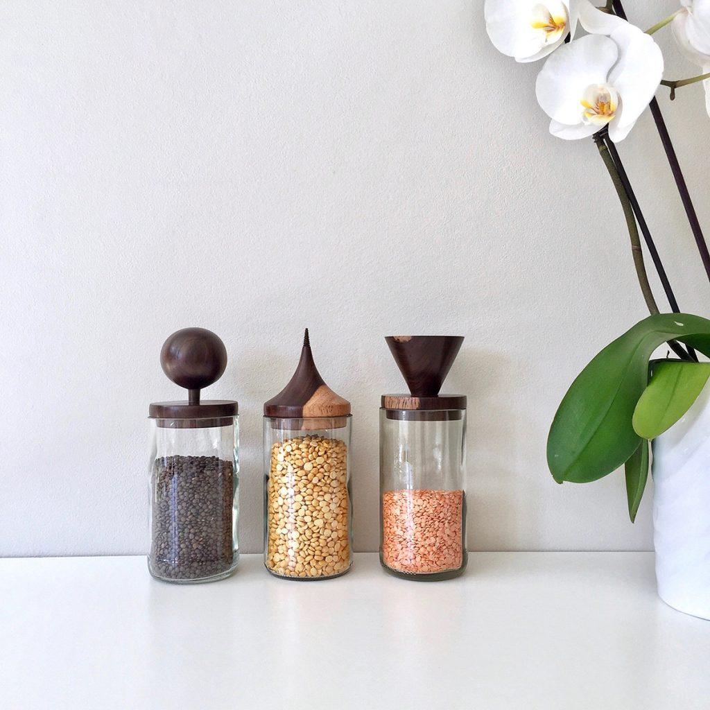qasa qasa glass storage-jars