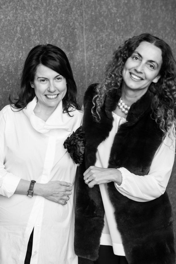 Allegra & Valeria portrait