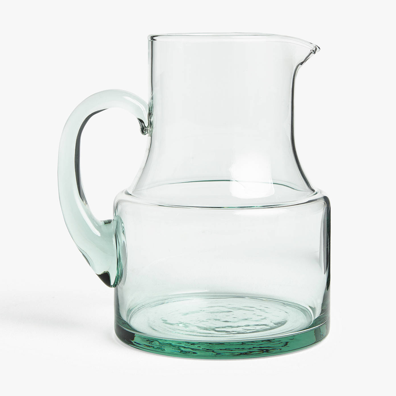 Croft Collection recycled glass jug, 1.5L, £15, John Lewis