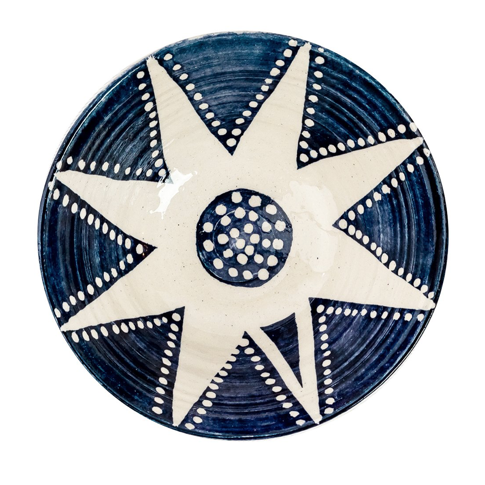 Dotted Star Bowl Medium, £40, Wicklewood