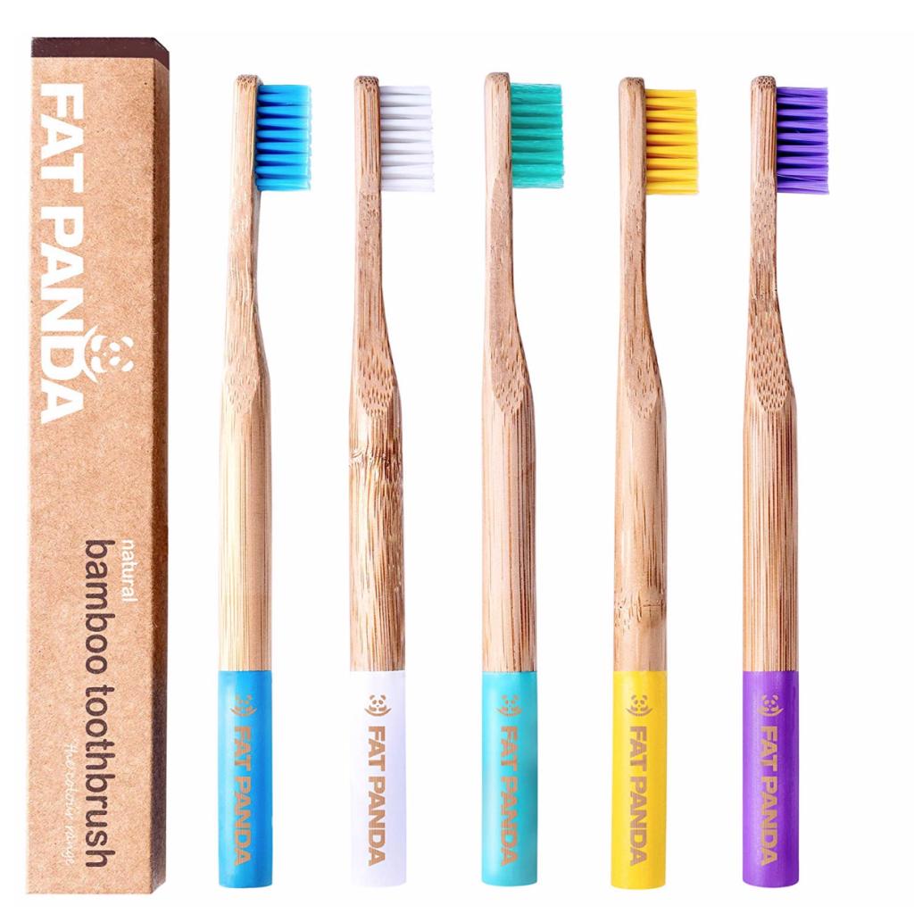 Fat Panda Bamboo Toothbrushes, £10.99, Amazon