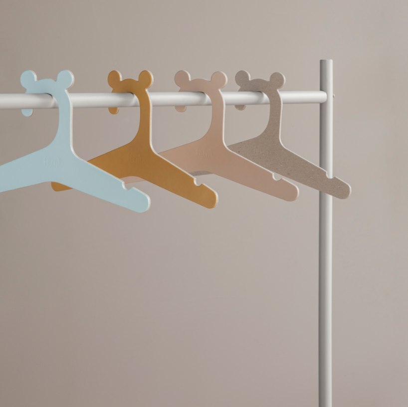 Ferm Living kids recycled cardboard hanger, £1.90 for five, made in design