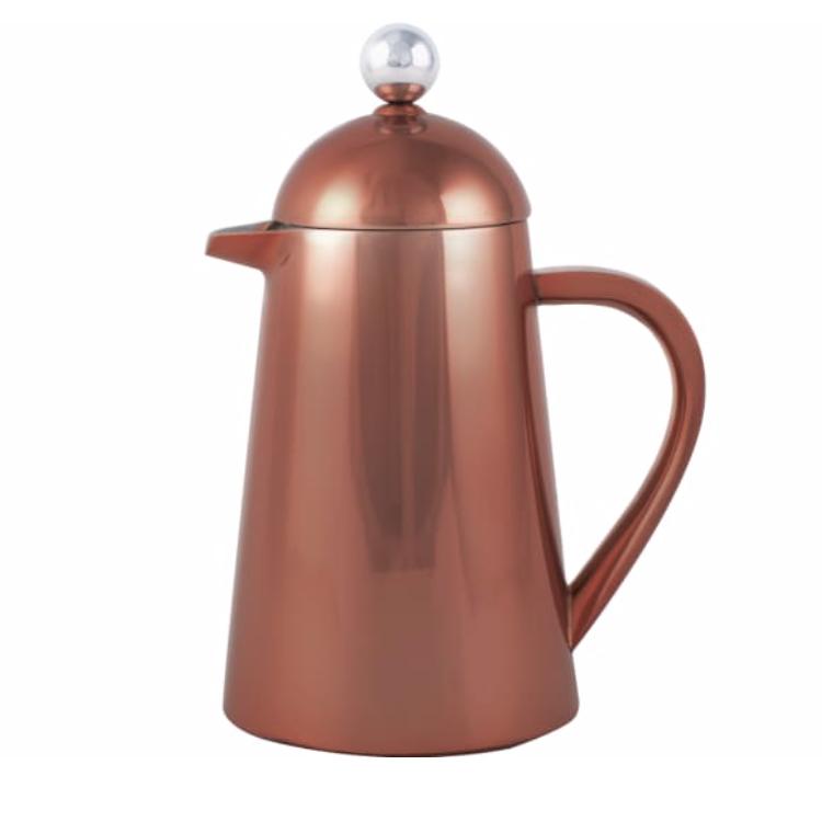 La Cafetiere, Thermique 8 Cup Double Walled Copper Cafetiere, £55, Trouva