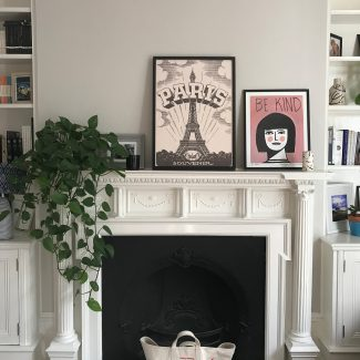 Liz Matthews fireplace