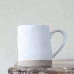 Off White Organic Mug, £11.95, Graham ad Green
