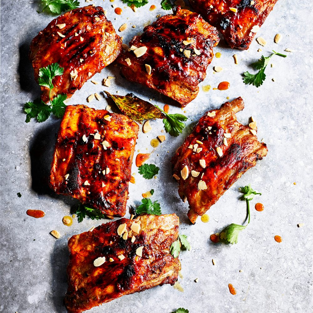 Ben Tish's Andalucían Pork Ribs with Almonds and Coriander