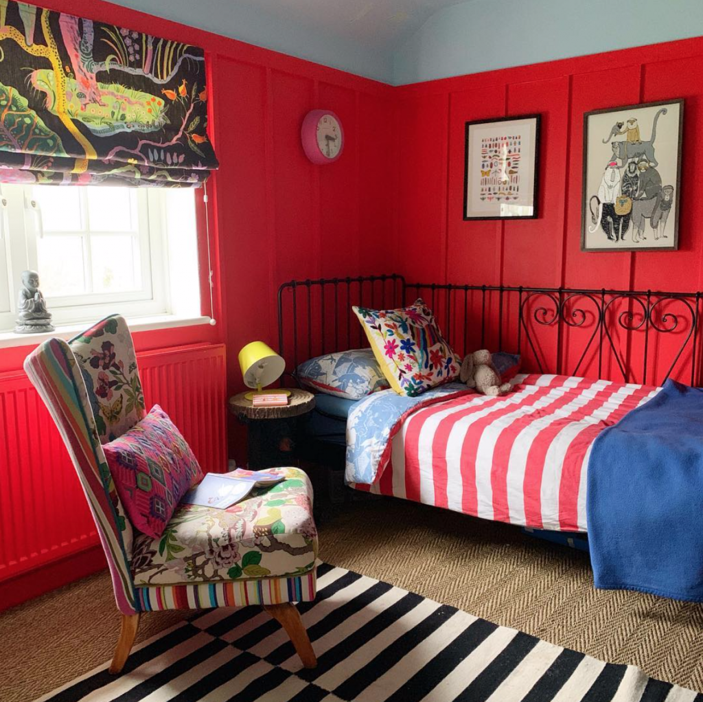 Sophie Robinson, son Arthur's bedroom