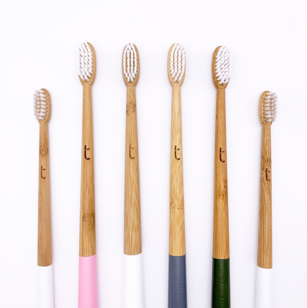Plastic Freedom Brand We Love Bamboo Toothbrushes