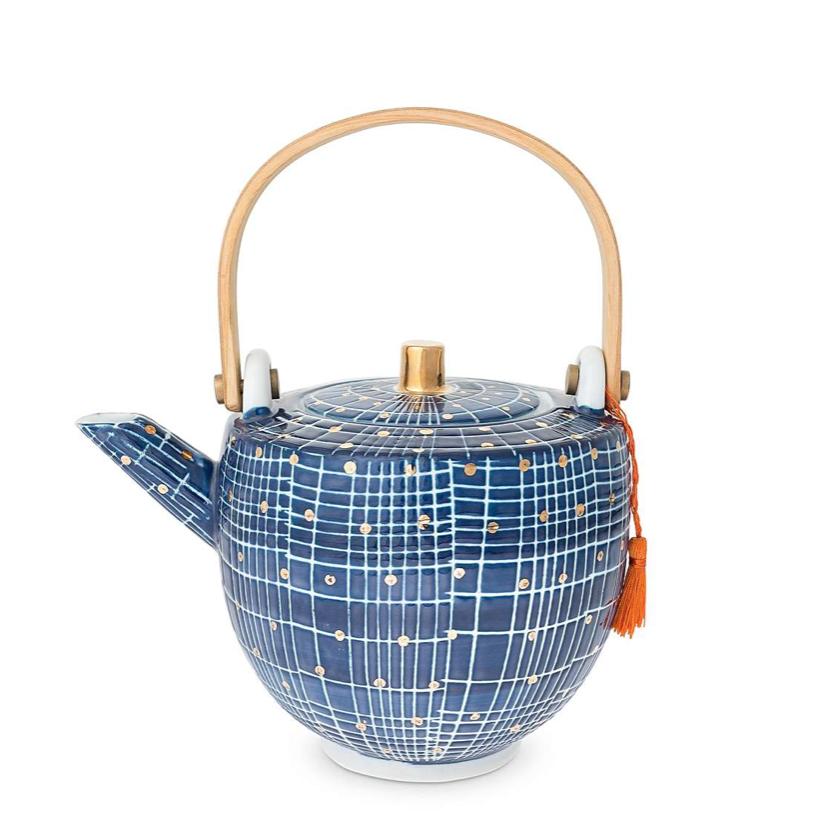 Tamma POrcelain Teapot, £32, Oliver Bonas
