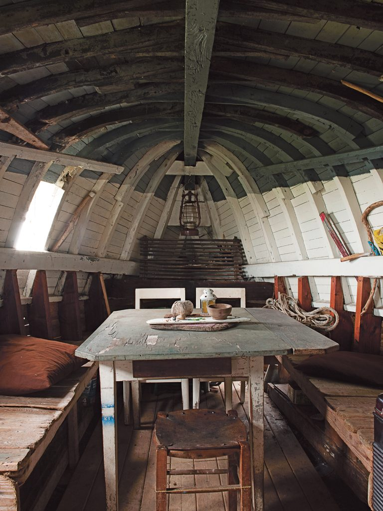 Upturned_boat-The-Foraged-Home