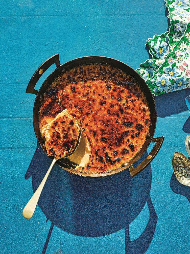 Veggie BBQ Lemongrass Skillet Brûlée © Haarala Hamilton