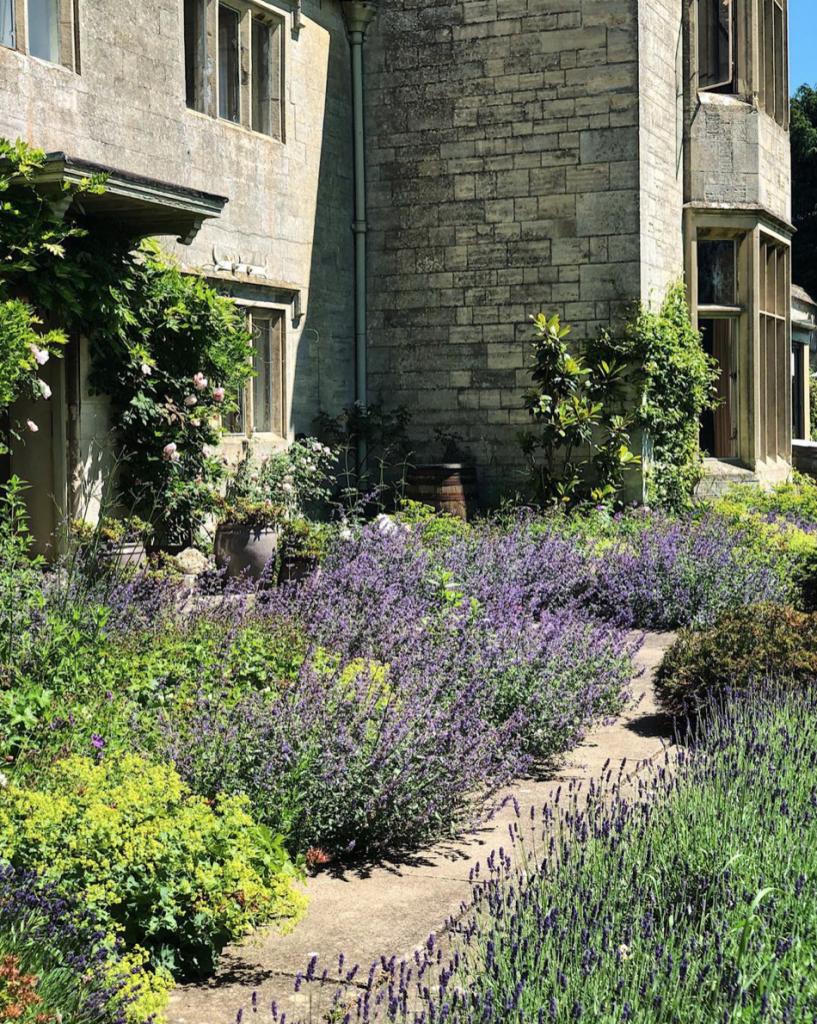 Georgie and Sam Pearman's home in Stroud